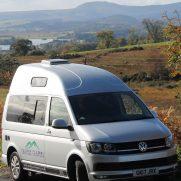 Campervan en Escocia