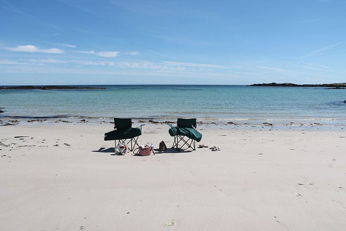 chairs beach